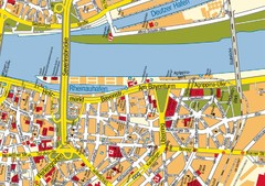 Cologne Center Map