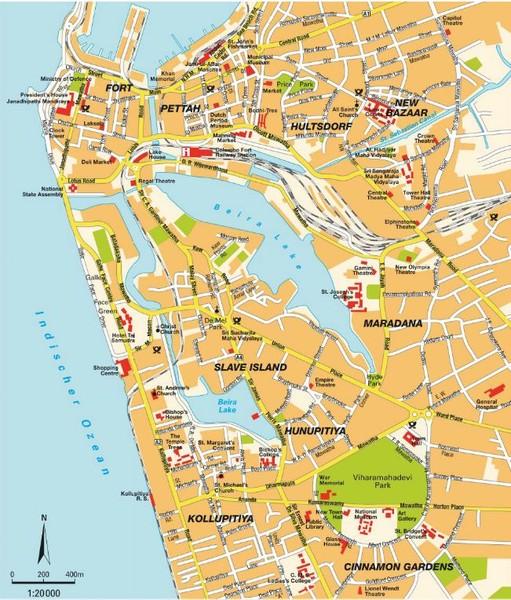 Colombo City Map colombo mappery