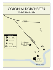 Colonial Dorchester State Park Map