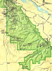 Colorado National Monument Map