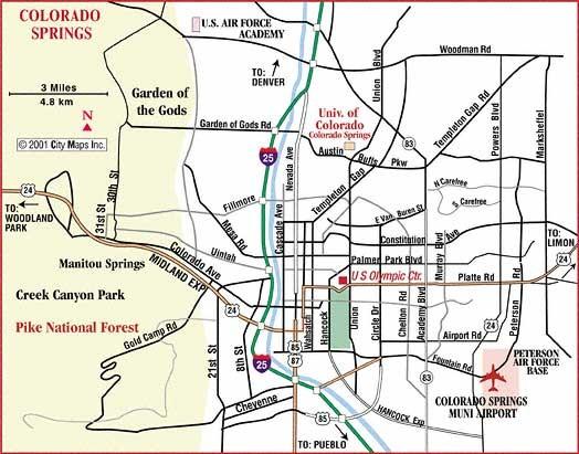 Woodland Park Colorado City Limits