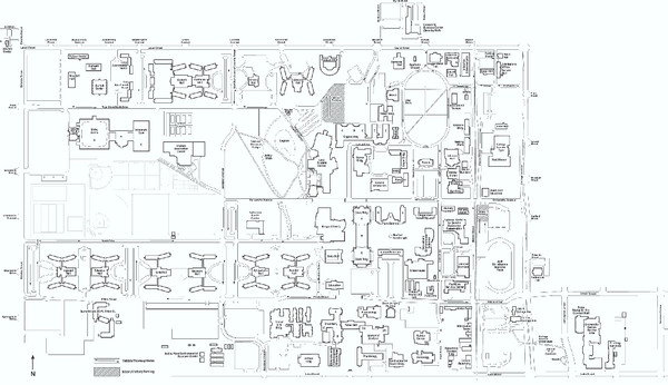 Colorado State University Map