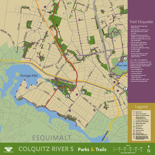 Colquitz South Map