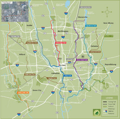 Columbus Bike Map