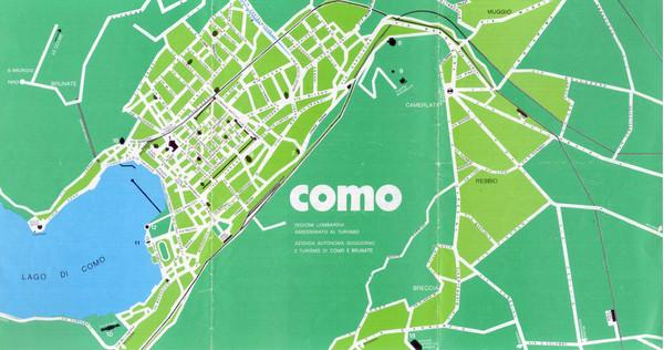 Como city map como italy mappery fullsize como city map altavistaventures Choice Image