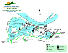 Connected Lakes State Park Map