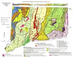 Connecticut Geologic Map