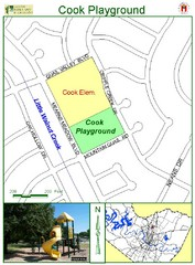 Cook Playground Map
