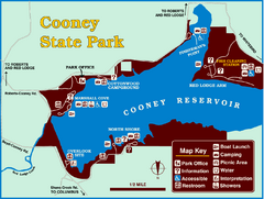 Cooney State Park Map