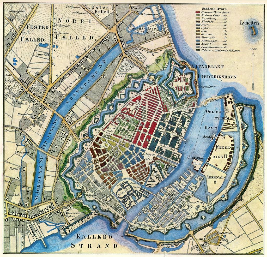 Copenhagen Map