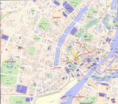 Copenhagen City Map