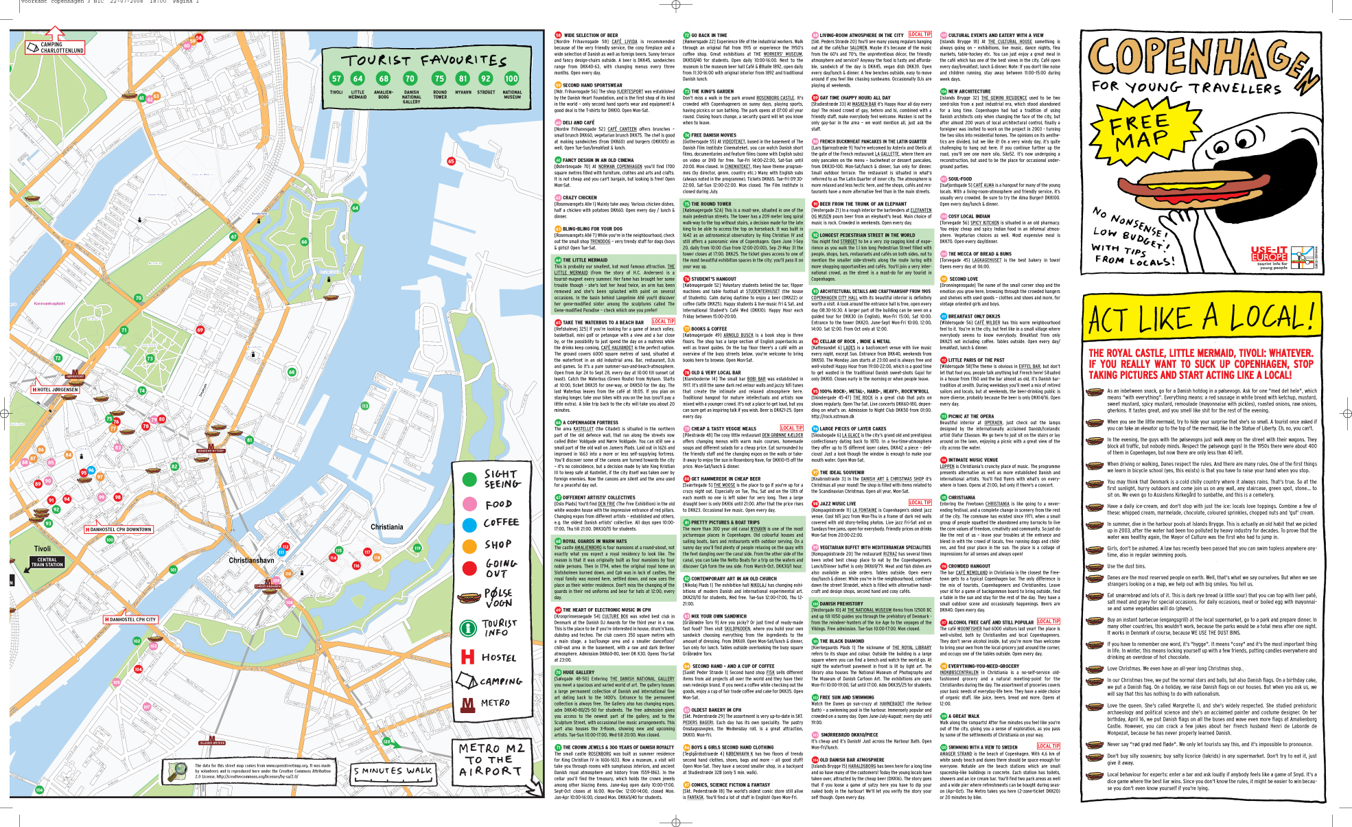 Copenhagen Tourist Map Copenhagen mappery – Tourist Map Of Copenhagen