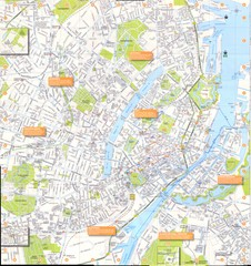 Copenhagen large-scale Map