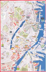 Copenhagen major bus-stops Map