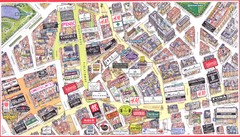 Copenhagen shops Map