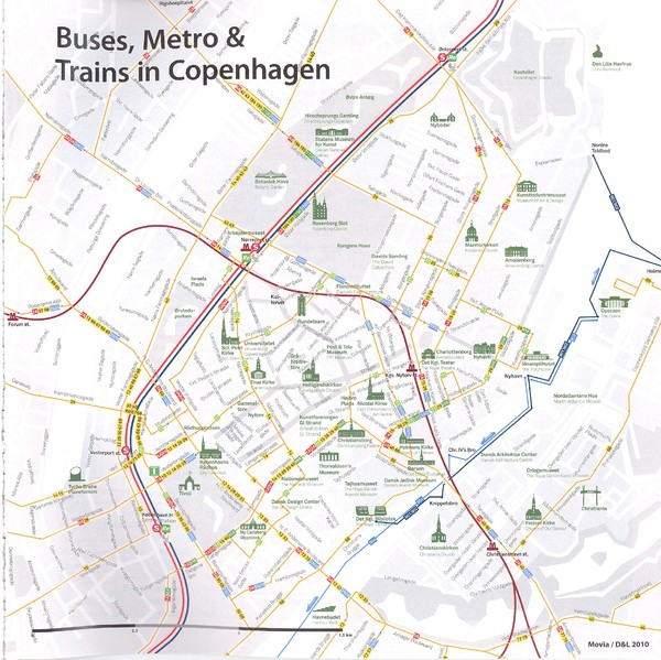 Copenhagen maps mappery – Tourist Map Of Copenhagen