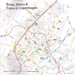 Copenhagen transport Map