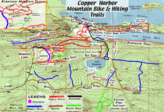 Copper Harbor Trail Map