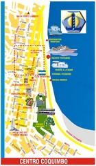 Coquimbo Center Touist Map