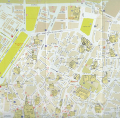 Cordoba Tourist Map