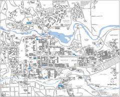 Cornell Campus Map - 410 Thurston Ave Ithaca NY • mappery