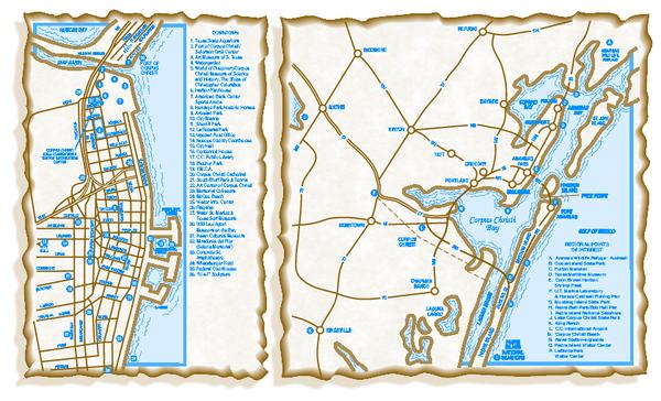Corpus Christi Map Of Texas.Corpus Christi Texas Map Corpus Christi Tx Mappery