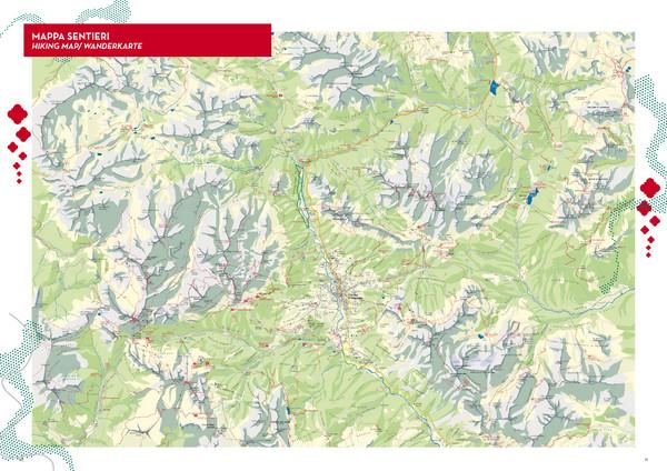 Cortina dAmpezzo Hiking Map Cortina d039Ampezzo Italy mappery