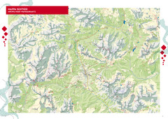 Cortina d'Ampezzo Hiking Map