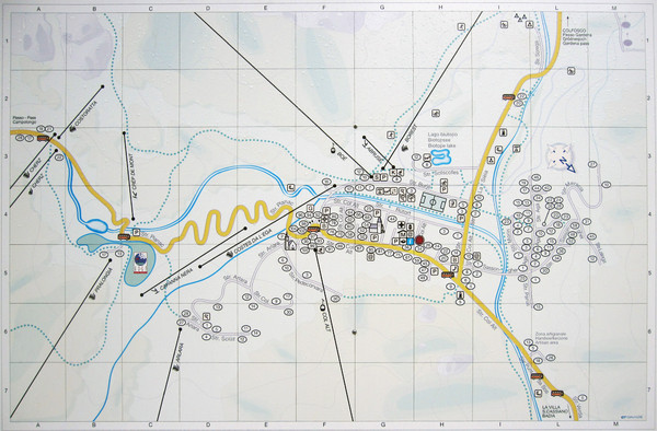 Nature Fitness Park in Kronplatz Dolomiti Map Pfalzen mappery