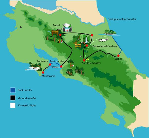 ¿Qué esperar de unas  vacaciones a Costa Rica?