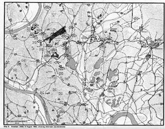 Counterattacks on the Naktong Map