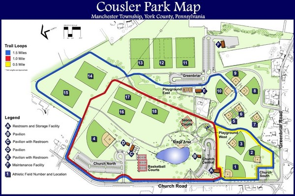 Cousler Park Map