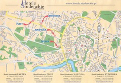 Cracow City Map