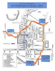 Crandon Snowmobile Trail Map