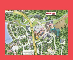 Creekside Map