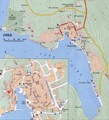 Cres City Map