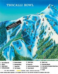 Crested Butte Mountain Resort Ski map...