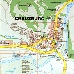 Creuzburg Map