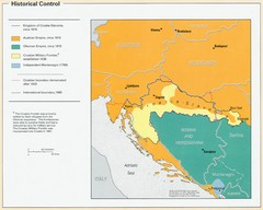 Croatia Historical Control Map