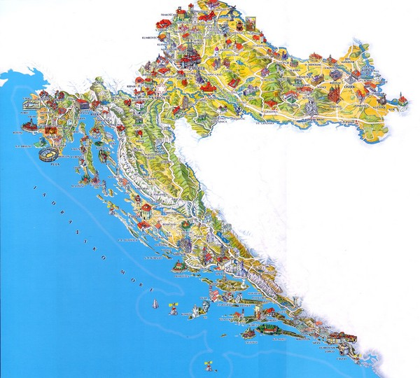 Croatia maps • mappery