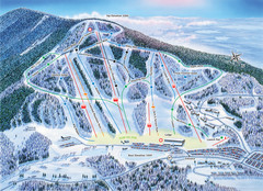 Crotched Mountain Ski Trail Map