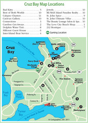 Cruz Bay St. John Map