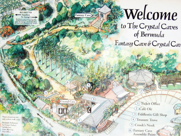 Crystal Cave Map