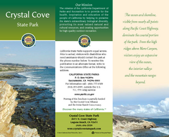 Crystal Cove State Park Map