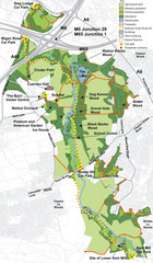 Cuerden Valley Park Map