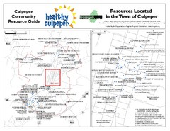 Culpeper, Virginia City Map