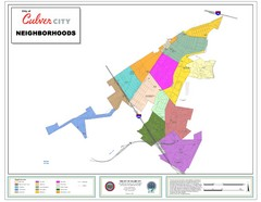 Culver City Neighborhood Map