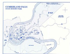 Cumberland Falls State Resort Park Map