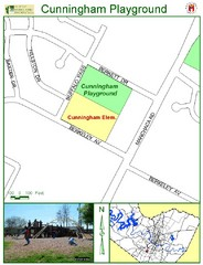 Cunningham Playground Map