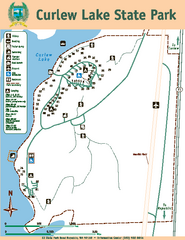 Curlew Lake State Park Map